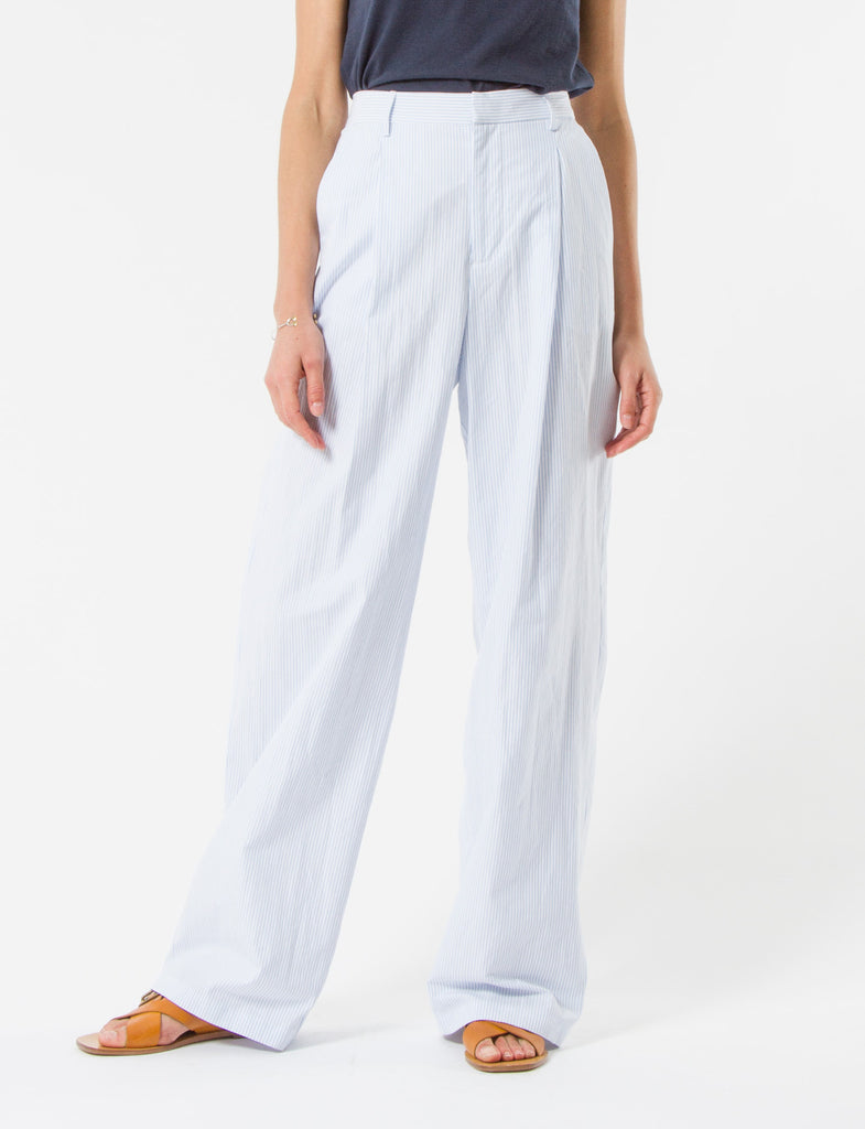 Harriette Pant Striped Shirting