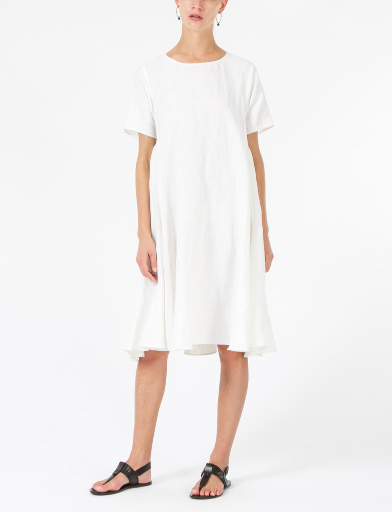 Mallory Dress Silk Linen