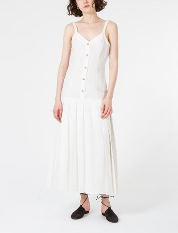 Monarch Dress Silk Linen
