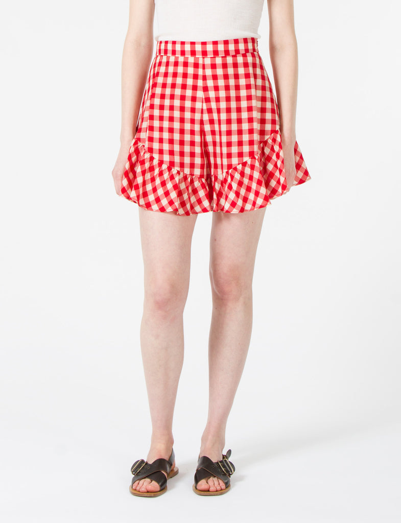 Neon Shorts Cupro Check