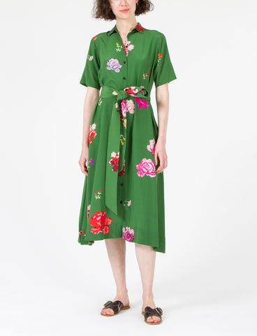 Raina Dress Floral Silk