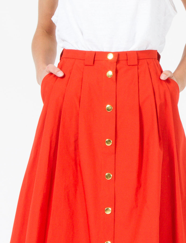 Valentina Skirt Cotton Broadcloth