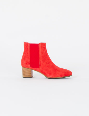 Naples Suede Ankle Boot