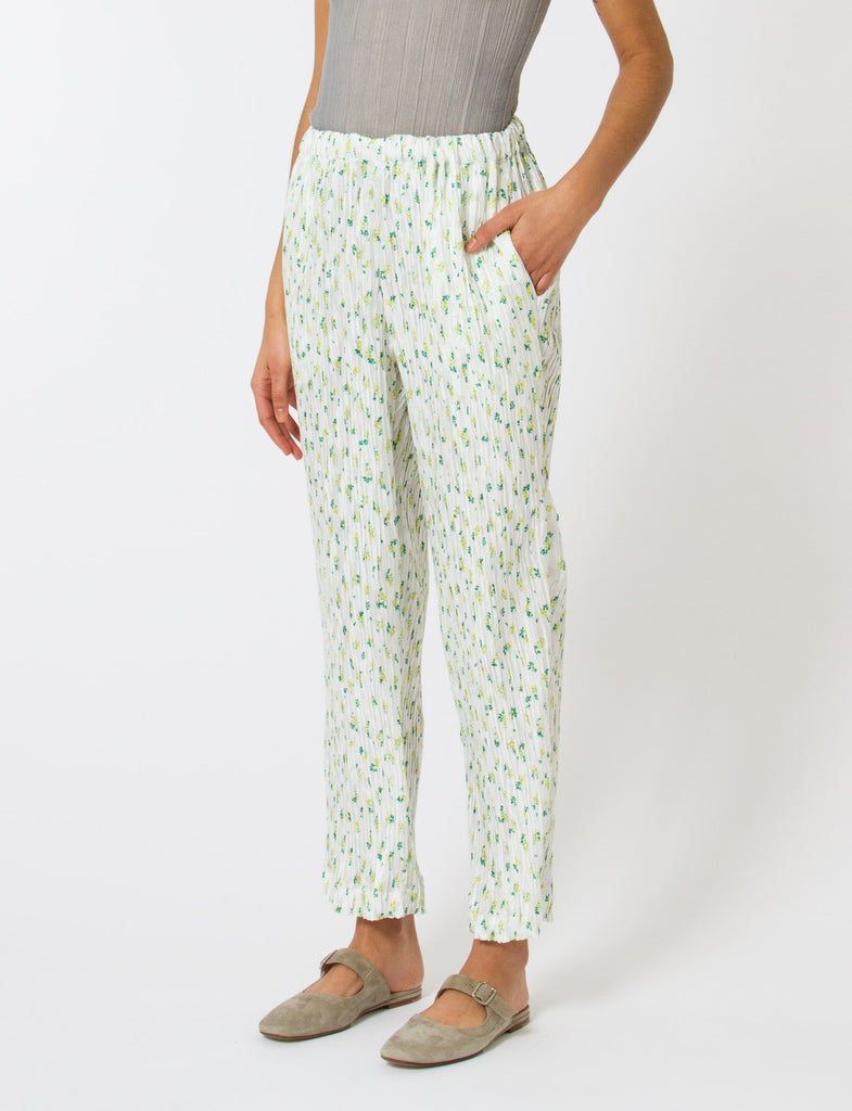 Asher Pant Floral Habotai - Creatures of Comfort