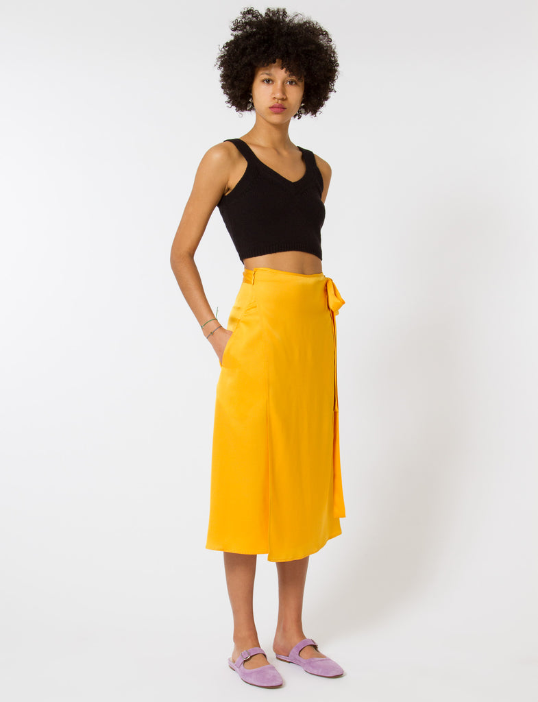 Creatures of Comfort Camilla Skirt Silk Georgette