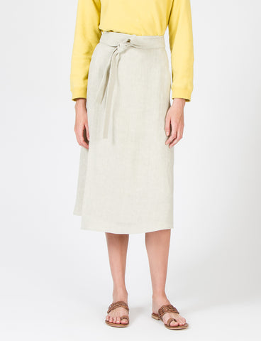Creatures of Comfort Camilla Skirt Relaxed Linen