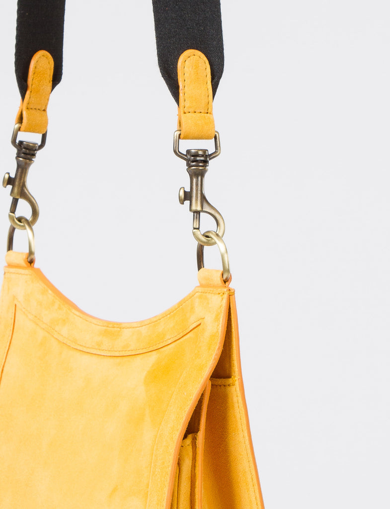 Equestrian Bag Tall Suede