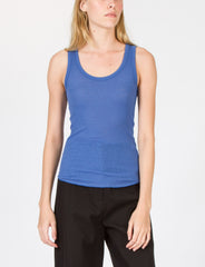 Fitted Tank Ribbed Jersey