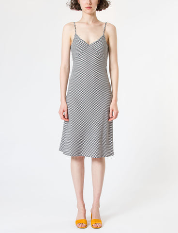 Gaia Dress Gingham Viscose