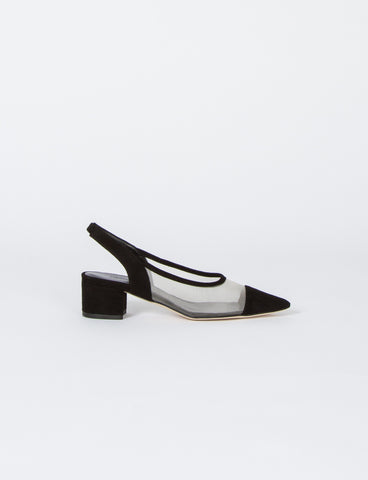 Gloria Sling Back Suede