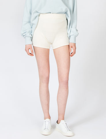 Creatures of Comfort Knit Short Off White
