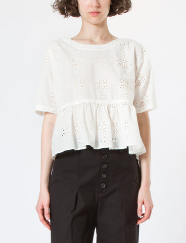 Creatures of Comfort Ony Top Open Eyelet