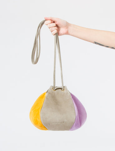 Puff Bag Drawstring Suede - Creatures of Comfort