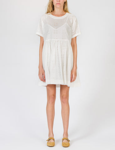 Rhys Dress Open Eyelet