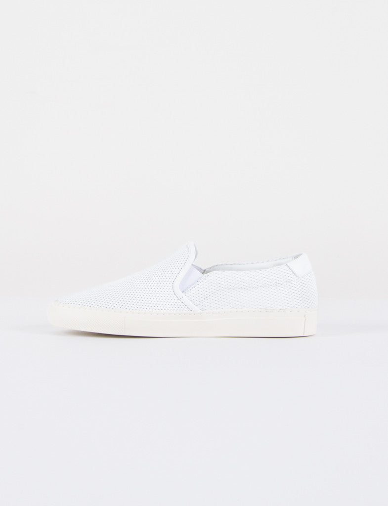 Slip On In Perforated Leather