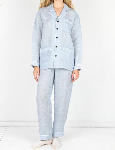 Pajama Set Chambray