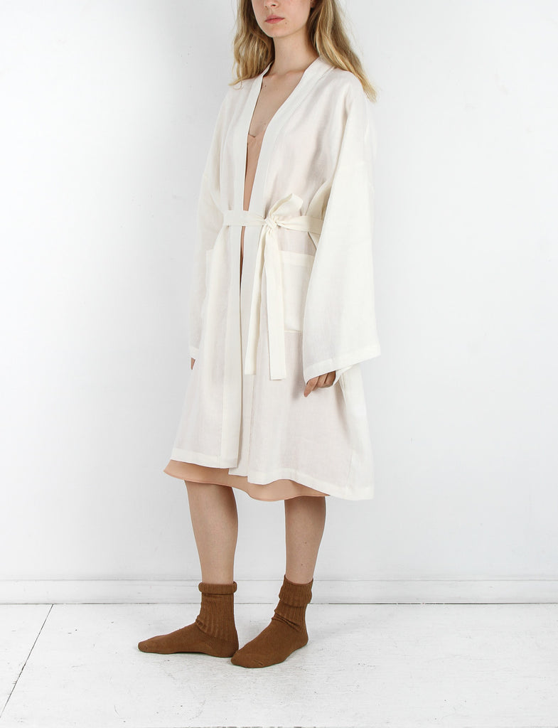 Robe Washed Linen