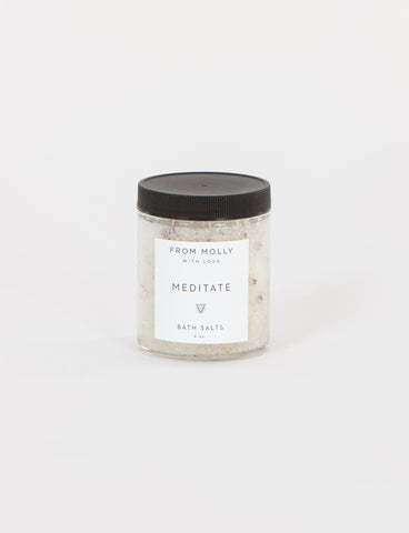Meditate Bath Salts 6 Oz