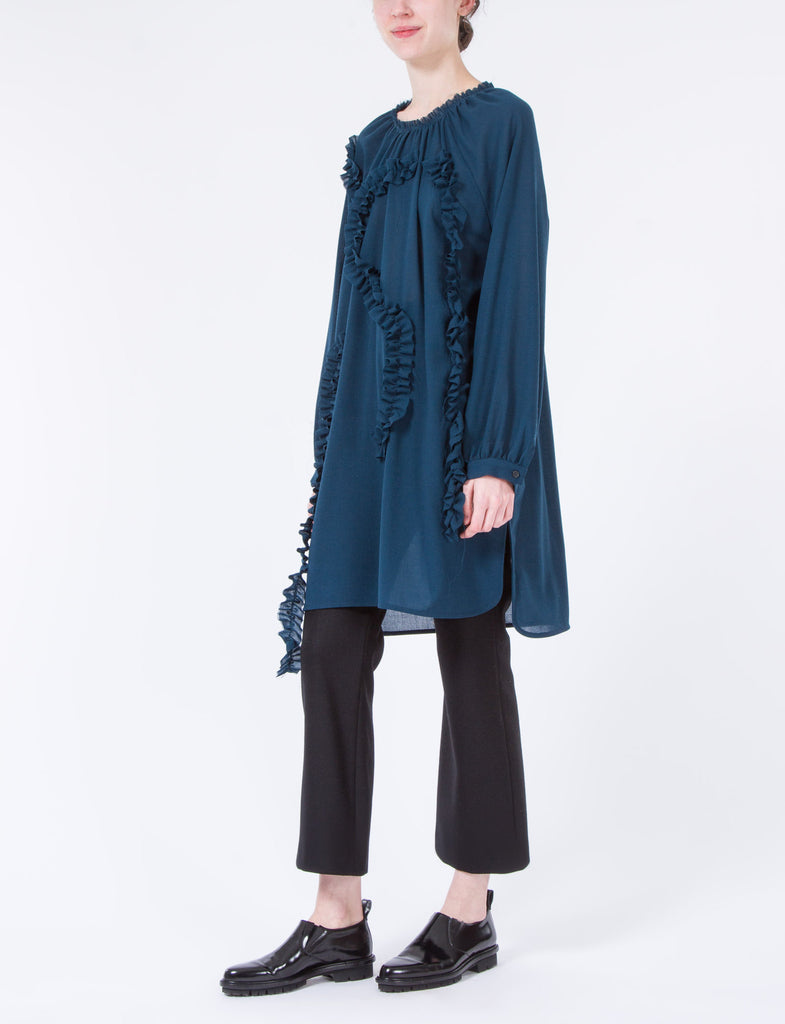 Camille Dress Wool Crepe