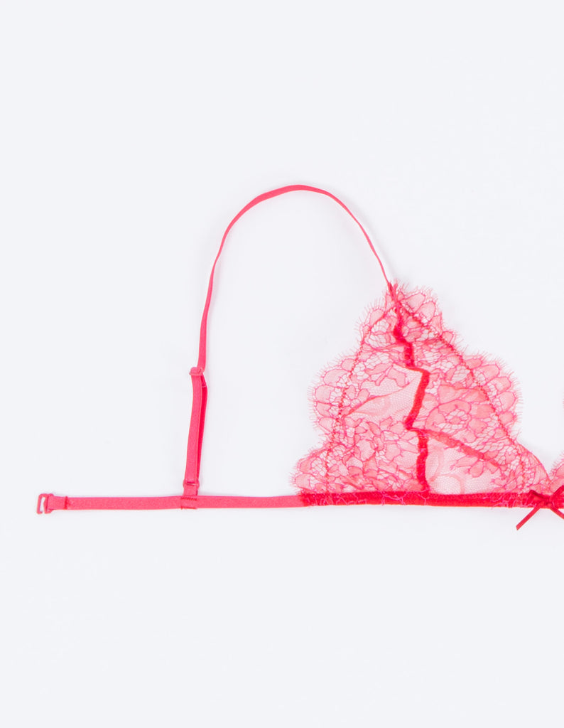 Triangle Lace Bra