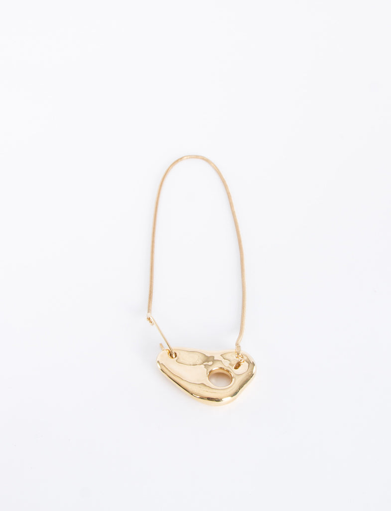 Gold Plated Pebble Necklace