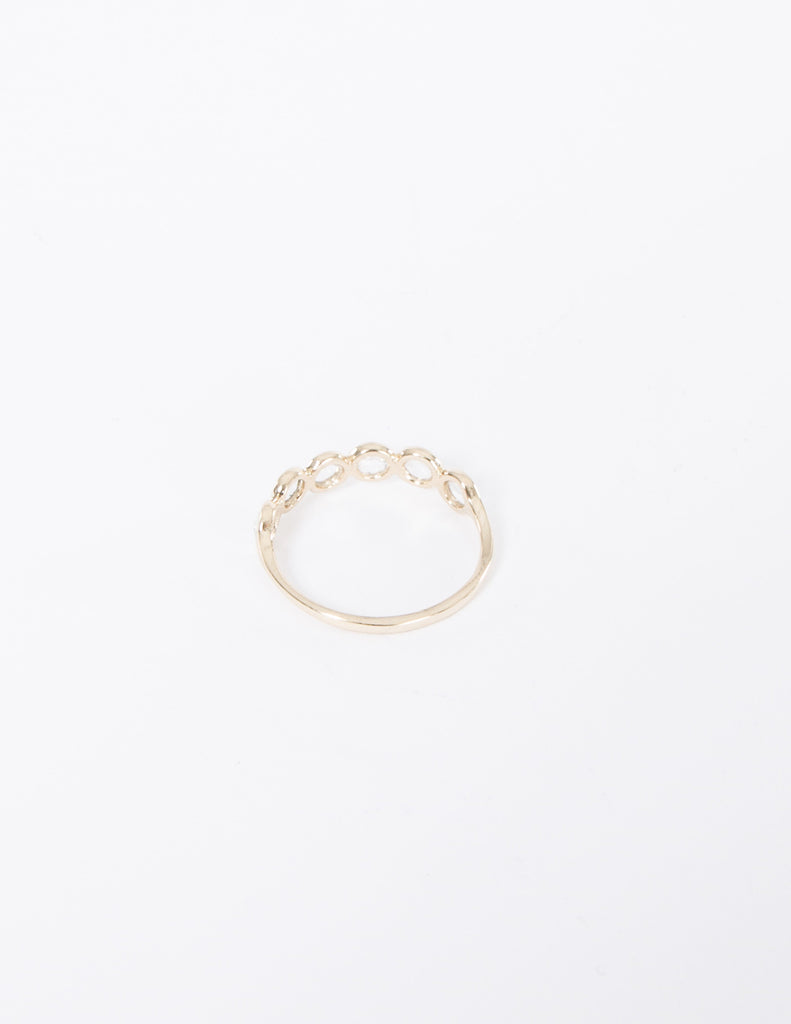 Bezel Band Ring