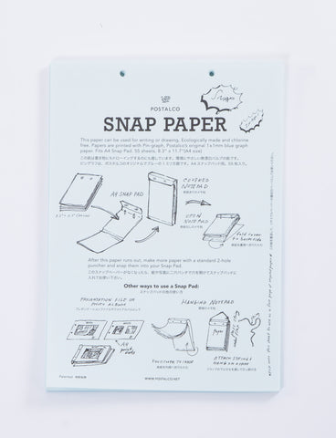 Snap Pad A4 Refills 55 Sheets