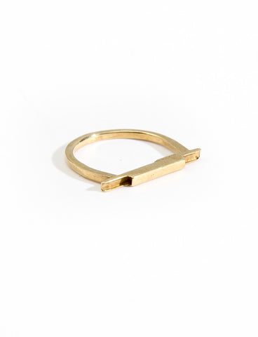 Star Pool Ring Bronze