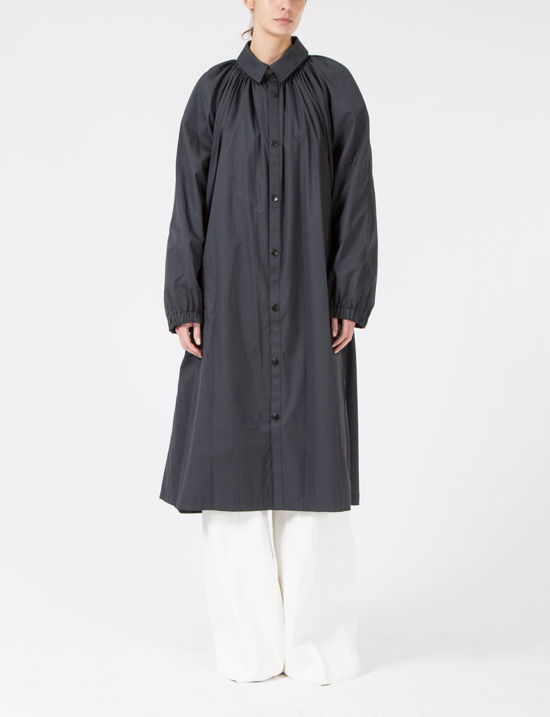 Pleated Overcoat