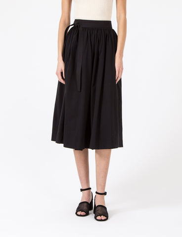 Jersey Wrapover Skirt