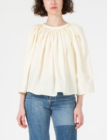 Pleated Blouse Long Sleeves