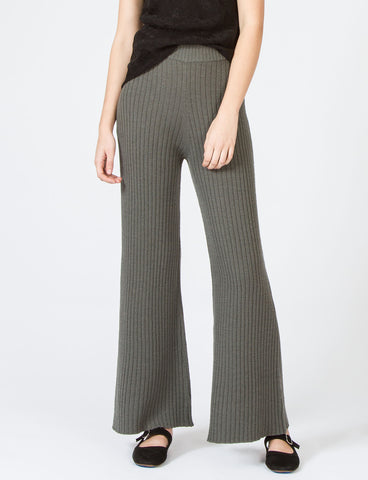 Ribbed Pant K-Wave