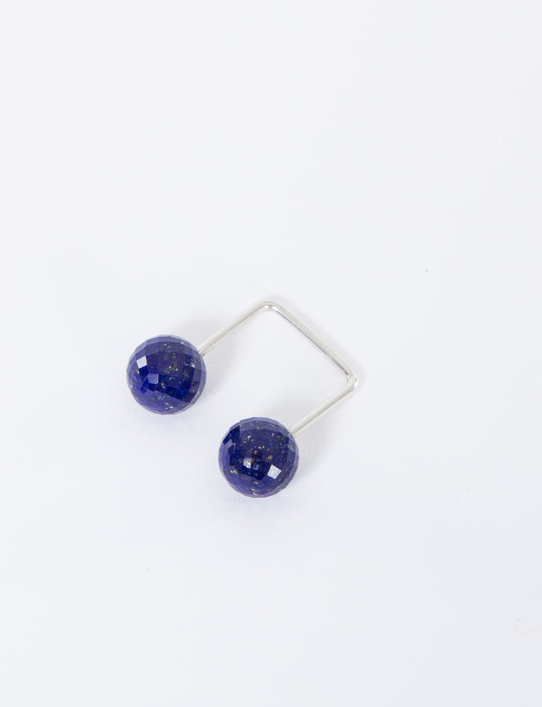 10mm Open Square Lapis Ring