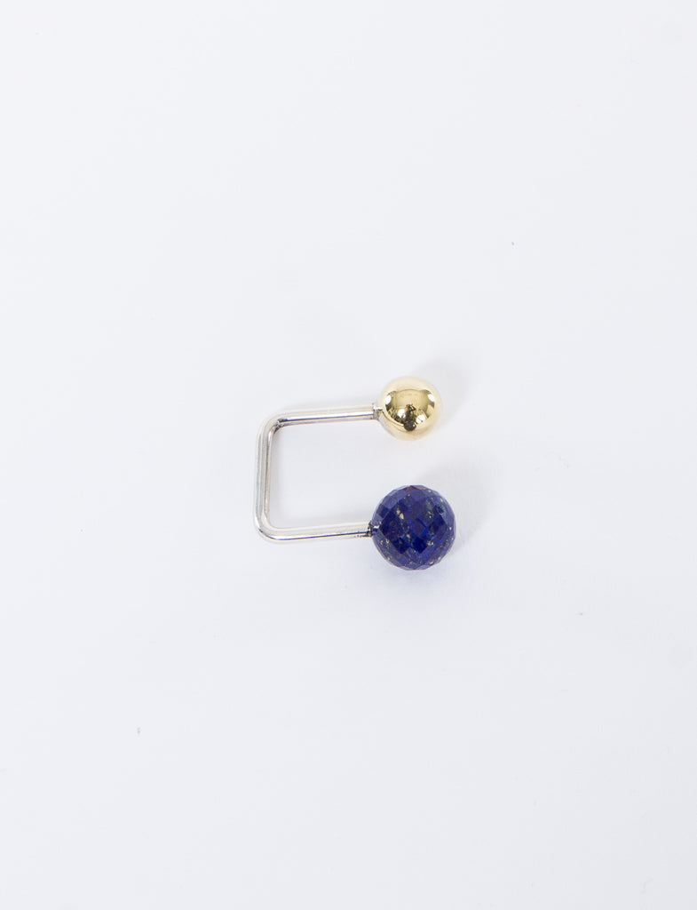 Big Lapis Small Brass Ring