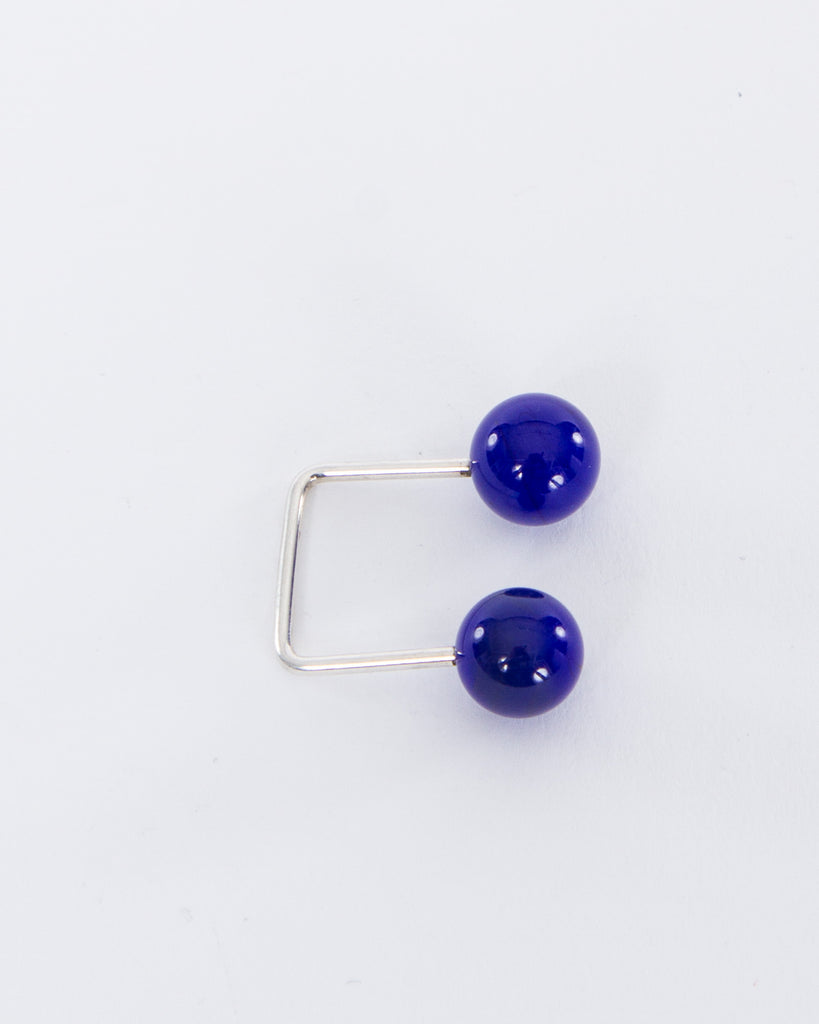 10mm Open Square Murano Glass Ring