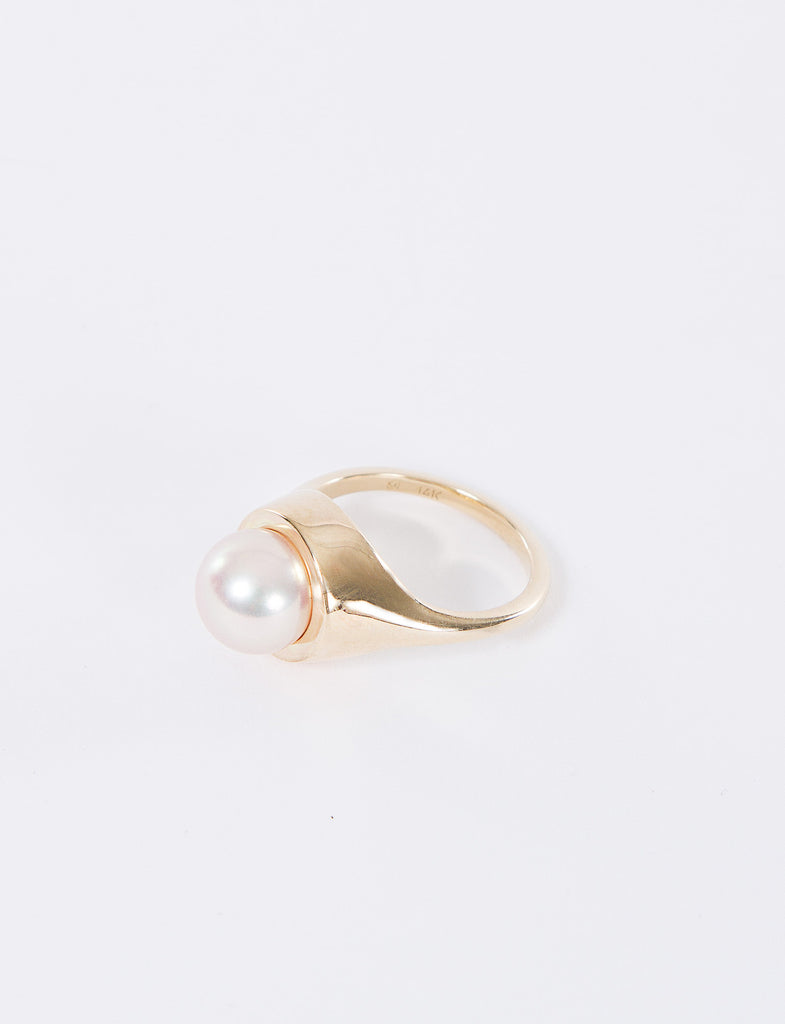 Nicola Ring W/ Pink Pearl