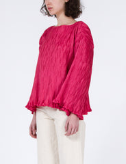 Paulie Top Pleated Poly