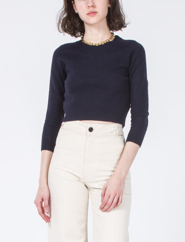 Mindy Boiled Wool Sweater