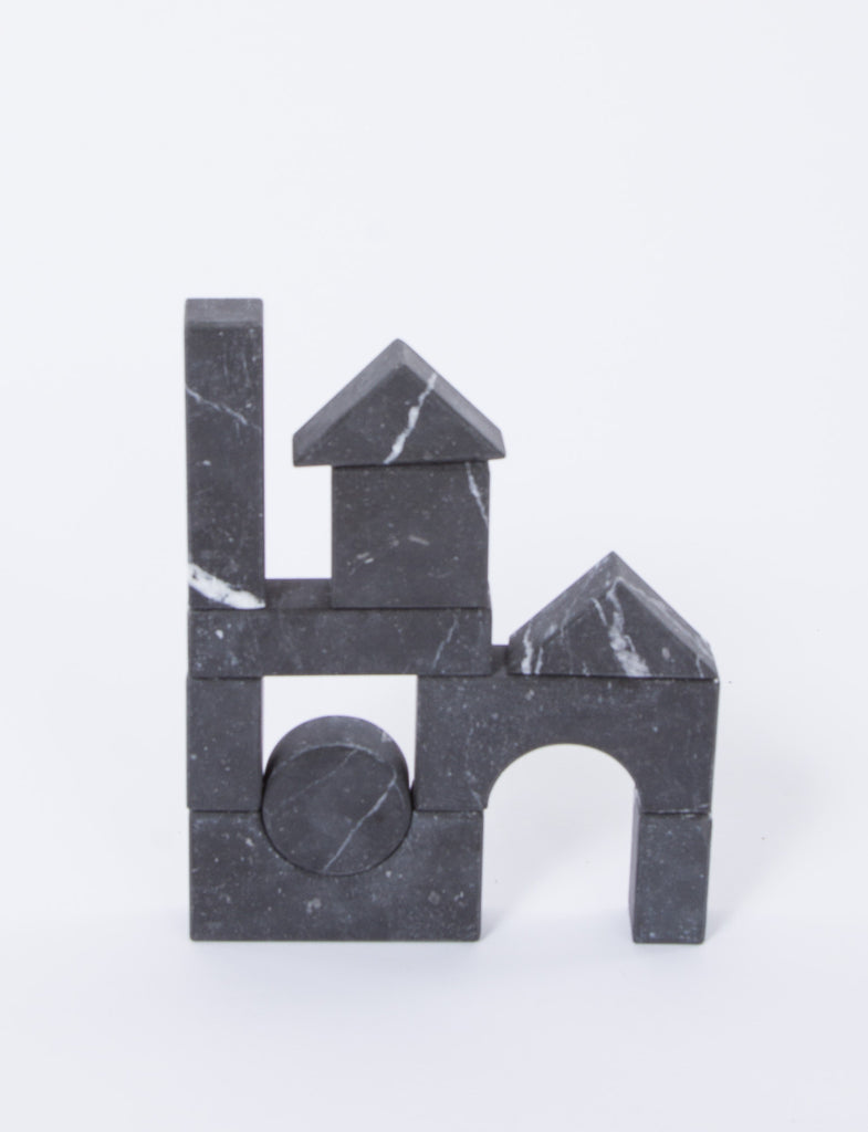 Marble Building Blocks
