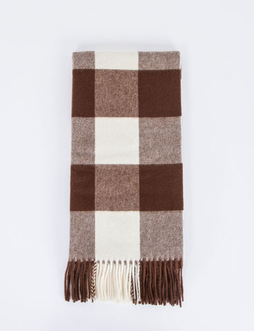 Canada Narrow Vichy Check Scarf