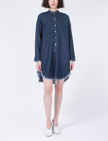 Gracie H Denim Dress Shirt