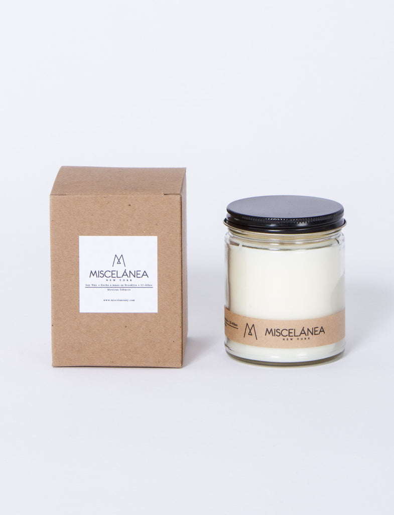 7.5 Oz Soy Mexican Toba Candle
