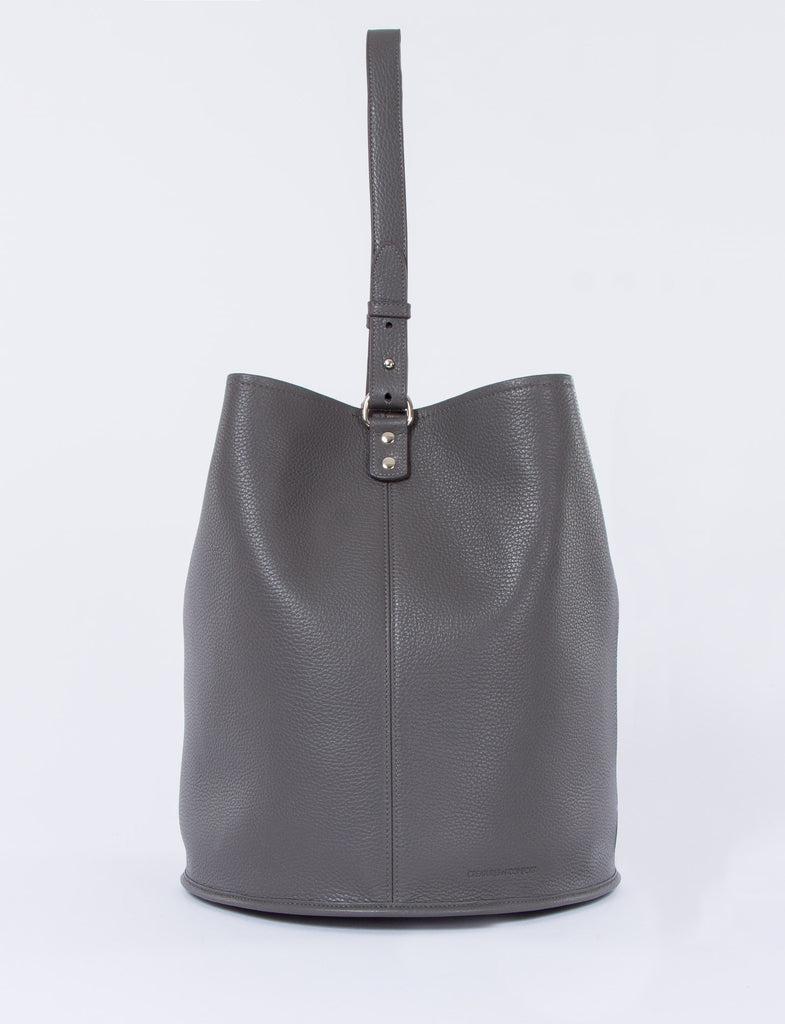 Bucket Bag Large Pebbled Leather