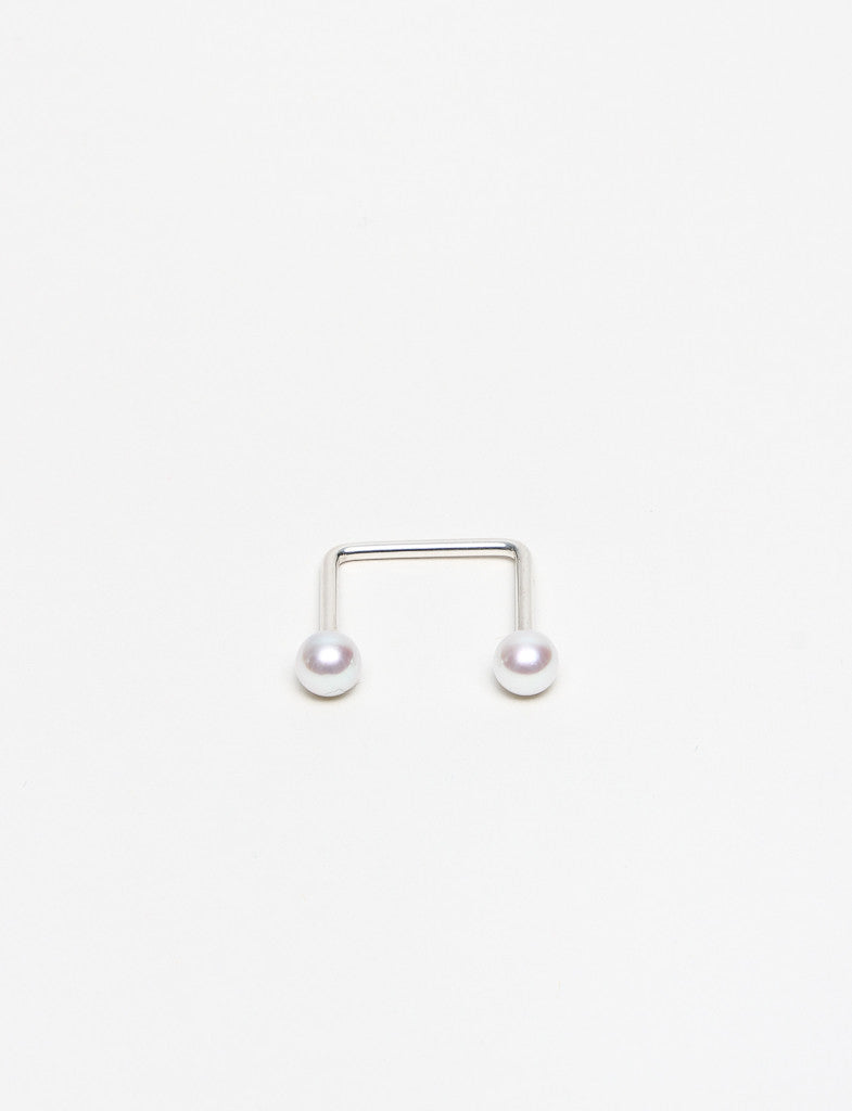 5mm White Pearl Ring