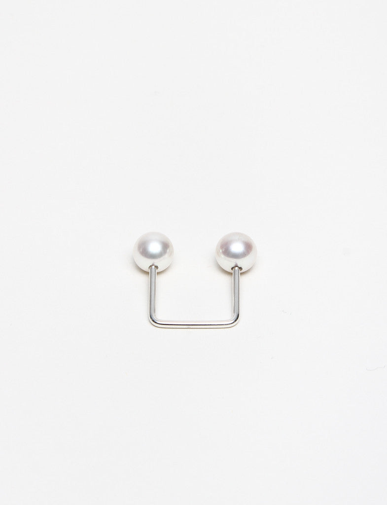 7mm White Pearl Ring