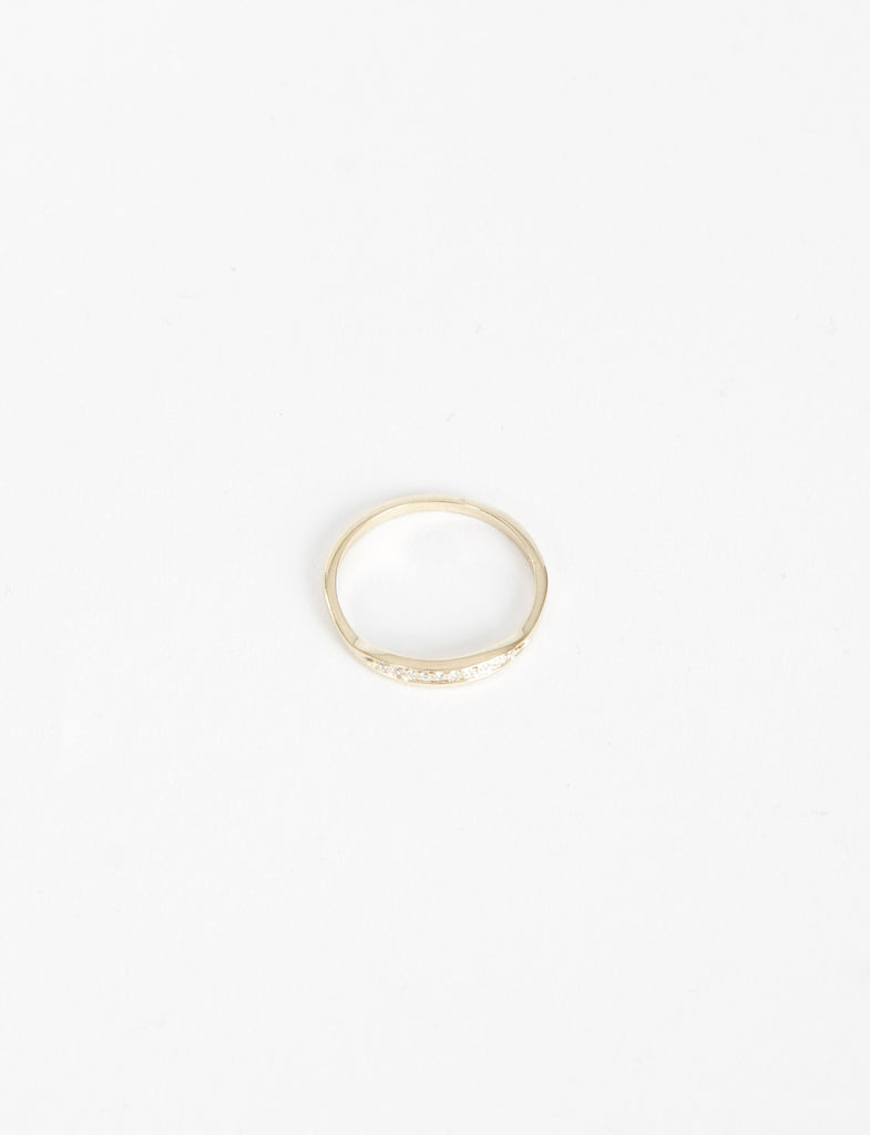 Trouve Ring White Diamonds