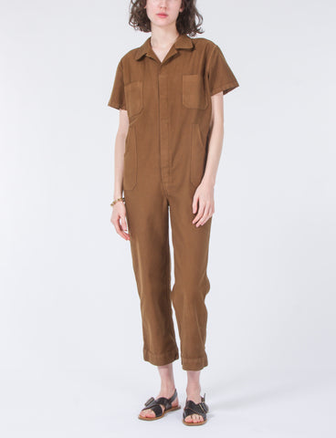 Crawford Jumpsuit Cotton Twill