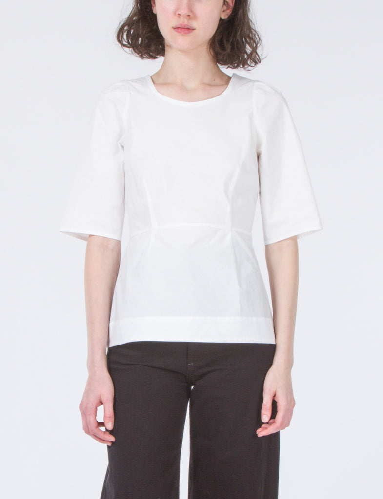 Maude Top Cotton Poplin