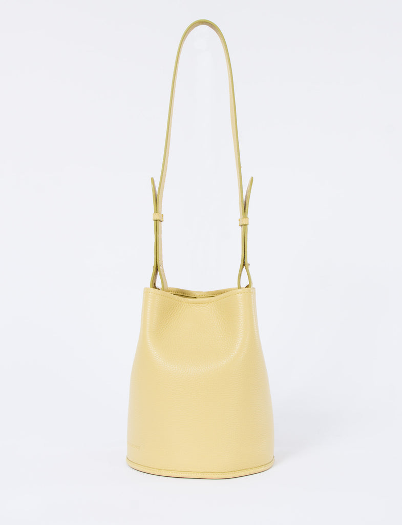 Bucket Bag Small Pebbled Leather