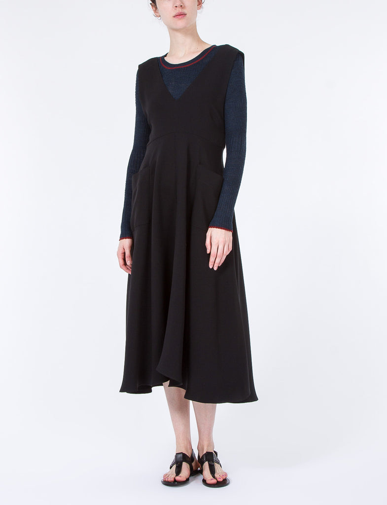 Newton Dress Double Georgette